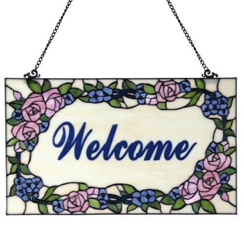 Панель Tiffany Welcome 54*32 cm